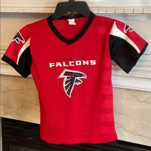🏈 Kids small falcon jersey.